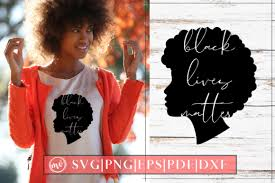Download 10,000 fonts with one click for $19.95. Young Black Girl Blm Design Graphic By Mockup Venue Creative Fabrica