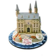Harry Potters Castle Cake Birthday Cakes The Cake Store