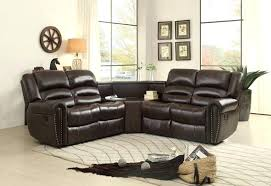 brown recliner couch corner recliner sofa brown dark brown reclining sectional