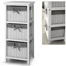 wicker basket shelves.  Shelves 3 Drawer Storage Cabinet With Baskets  Shelf Unit Wicker  Intended Basket Shelves W