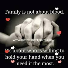 Family Isn T Always Blood Quotes Cool �� Family Isn't Always Blood Relations It's The People In Your Life