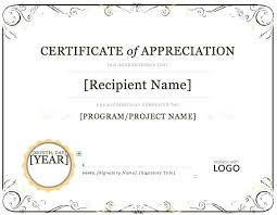 Sample Certificate Award Certificate Templates Word Of Achievement Template Award