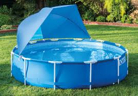 Intex Pool Canopy For Above Ground Metal and Ultra Frame Swimming