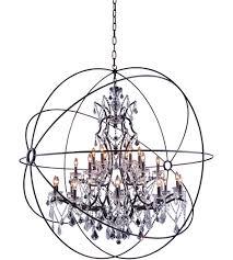 elegant the art of lighting. Elegant Lighting 1130G60DB/RC Geneva 25 Light 60 Inch Dark Bronze Pendant Ceiling In The Art Of H