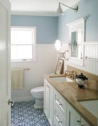 Cozy Cottage Bathroom beach-style-powder-room
