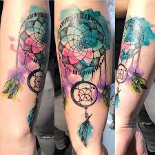 Dream Catcher Tattoos On Arm Collection of 100 Cool Dream Catcher Tattoo For Girls 74