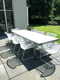 trendy outdoor furniture. Modern Patio Table Furniture Concrete Wonderful Inside Outdoor Plans Trendy