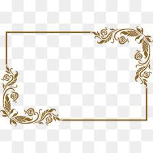 Golden Frame PNG Images Vectors and PSD Files Free Download on