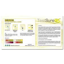 Benzodiazepine Test Kit Reagent Test Kit To Identify Valium Test Sure