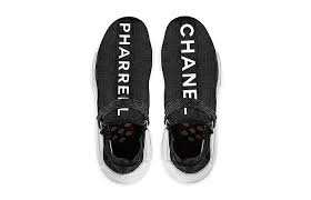 chanel trainers womens. chanel pharrell adidas nmd human race buy new sneakers trainers for man women in united kingdom womens