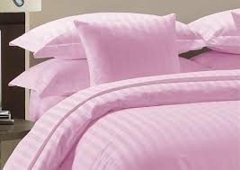 details about egyptian cotton 1000 thread count superior bedding all uk sizes pink striped