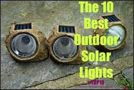 the 10 best solar lights for outdoors home