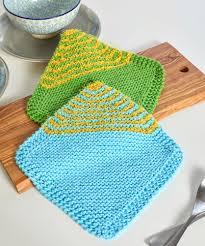 Easy Knit Dishcloth Pattern Classy Free Bias Garter Stitch Dishcloth Pattern Patterns ⋆ Knitting Bee