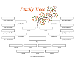 Free Editable Family Tree Template Free Family Tree Templates For A Projects
