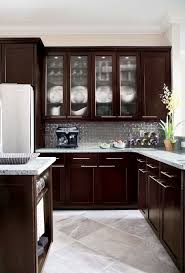 Beautiful Kitchen Floor Tiles With Dark Cabinets Best 25 Ideas On Pinterest Inside Impressive