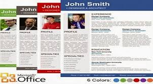 Resume Templates For Publisher Professional Resume Templates For Microsoft Word Make Your