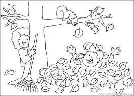 Small Picture Fall tree leaf Coloring Page Free Autumn Coloring Pages