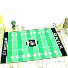 soccer rug football field area rugs city carpet s wonderful looking impressive decoration large runner