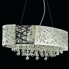 mini chandelier shades canada beautiful classy shade drum ceiling light with modern crystal bronze lamp for