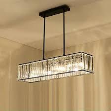 Großhandel Kristallleuchter Schwarz Bronze Hanglamp Moderne Kronleuchter Mit 3 Lichter Esszimmer Leuchten E27 Led Industrielle Lampe Von Lvzhilamp