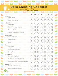 Free Download Home Organization And Cleaning Printables