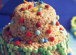 Rice Krispies Treats Birthday Cake Recipe Chowhound