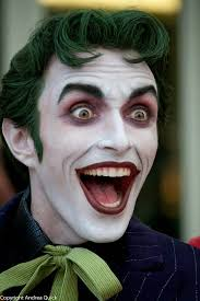 there is something more disturbing about this joker than the make up job on the most recent joker in my opinion