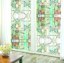 stained glass decor stain living room privacy window door static vinyl decorative home depot stained glass decor decorative adhesive privacy window