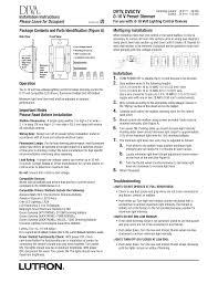 osram quicktronic ballast wiring diagram osram lutron diva dvtv wh installation instructions on osram quicktronic ballast wiring diagram sylvania