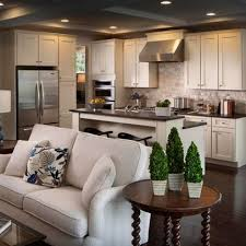 17 Open Concept Alluring Kitchen And Living Room Design Ideas
