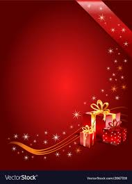 Gifts Background Red Christmas Background With Gifts