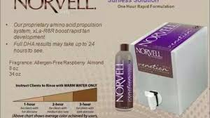Norvell Spray Tan Solution Color Chart Best Picture Of