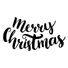 merry christmas text. Wonderful Text Merry Christmas Text Brush Calligraphy Type Vector Lettering Isolated On  White Background Stock Vector And Christmas Text A