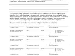 Free Subcontractor Lien Waiver Form Standard Lien Waiver Form Free Subcontractor Lien Waiver Form