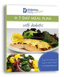 7 day diabetic meal plan a 7 day diabetes cookbook