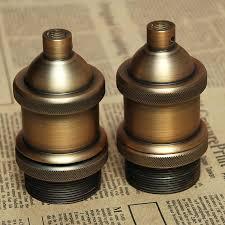 vintage lamp bases vintage lamp bases bulb socket cover chandelier lamp holder cover aluminum alloy