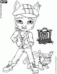 Small Picture Baby Monster High Coloring Pages Coloring Pages corloring