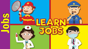 fun kids pictures. Delighful Pictures Jobs And Occupations For Kids  What Does HeShe Do Kindergarten EFL  ESL Fun English Inside Pictures O