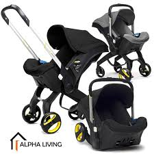 Baby Car Seat Stroller 4 in 1 Transformable Travel System (BAY0157) (BAY0157