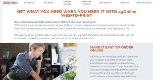 A Custom Web To Print Portal Saves Your Business Time And Money Ag Alexandria