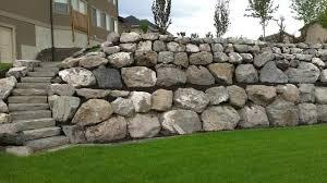 rock landscape wall rock wall installations traditional landscape landscape  rock retaining wall . rock landscape wall ...