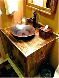 rustic bathroom vanity lights. Contemporary Vanity Fine Rustic Bathroom Vanity Home Depot Lights Light Fixtures And  L  To