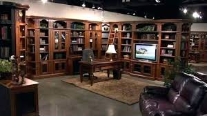 home office library furniture. Beautiful Home Peninsula Desk Office Furniture On Home Office Library Furniture