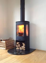 Modern Wood Burner Fireplace Designs Free Standing Contura Wood Burning Contemporary Stove