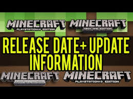 new car registration release datesMinecraft PS4 Xbox One Release Date Information  NEW UPDATE