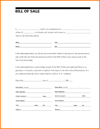 Generic Bill Of Sale For Car 2e Form Template Free Beautiful Ideas