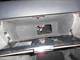 560sl glove box access panel mercedes benz forum Circuit Breaker Box at 88 560sl 560 Fuse Box