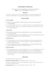 Skills Based Cv Template Free Resume Skill Examples Functional
