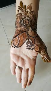 easy henna designs for back of hands