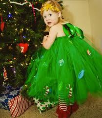 Wonderful DIY Christmas Tutu Dress For Your Little Princess Girls Christmas Tree Dress